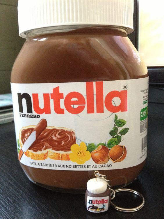 petit pot de nutella pour grands gourmands fimo polymer chocolate cacao nutella