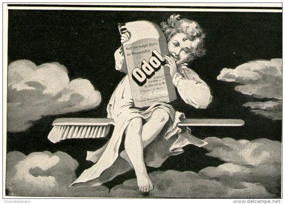 Original-Werbung/Inserat/ Anzeige 1902  : ODOL ca. 190 x 130 mm