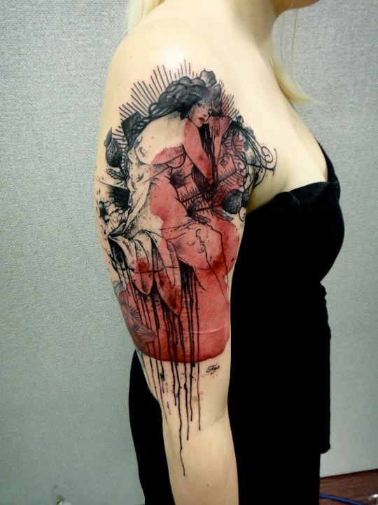 Tattoo Art by french Artist Xoil (14 Pictures)