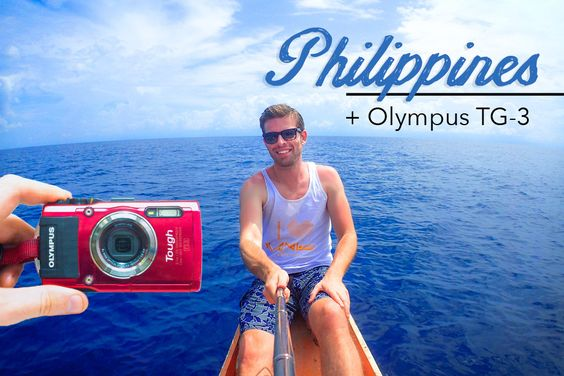 My Olympus TG-4 Underwater Camera + THE PHILIPPINES  = I Dreamed Of This!