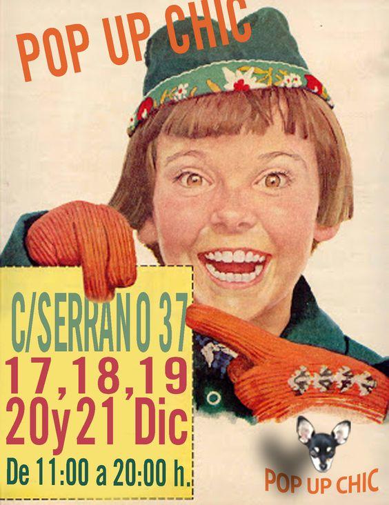 Pop up Chic Calle Serrano 37. Diciembre 2014
