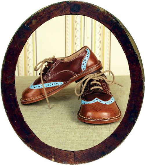 Bu and the Duck vintage style Italian school shoes | A M O R I N I ...