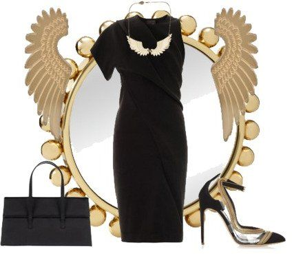 Stylebook de Bambi Schnell sur ShopStyle: #Black with Golden #Wings sur shopstyle.fr