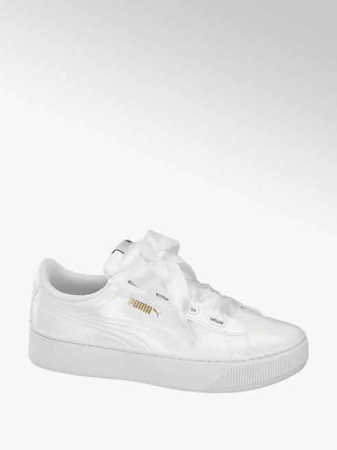 Sneaker VIKKY PLATFORM RIBBON P von Puma in weiß DEICHMANN
