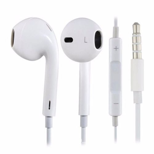 NEW Earbud Headset Headphone Splitter for Apple iPhone iPod Touch Nano 400+SOLD