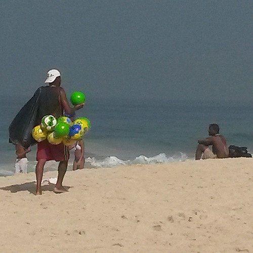 Verde e amarelo é ela. #justnow #copa2014bacana #worldcup #riodejaneiro #brazil #Copa2014 #instagram #travel #turismo #norumo #Mondiali2014 #photo