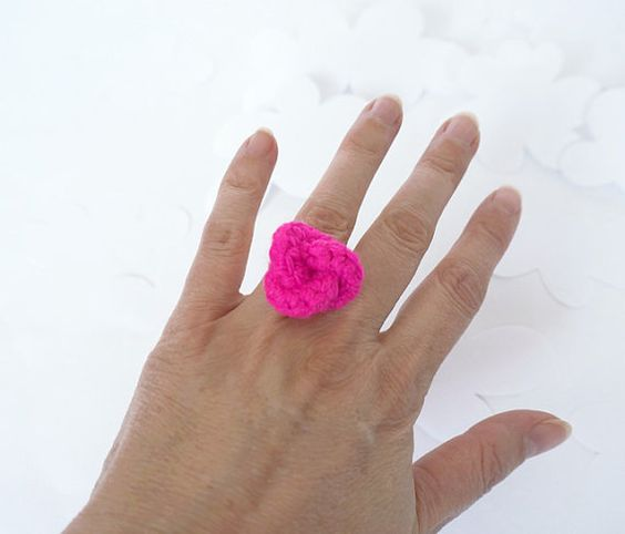Ring Alexandra Neon by lesfrotteurs on Etsy, €9.00