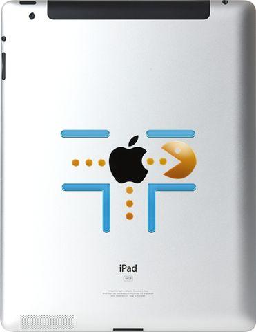 Ipad Decals: pacman