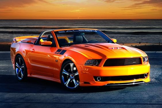 This 2014 Saleen 351 Mustang Convertible would look good from sunrise to sunset!