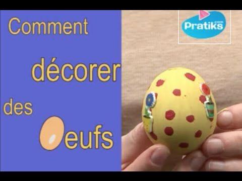 Comment vider des œufs sans les casser ?  Ce tuto vous montre une astuce pour vider des œufs crus sans casser la coquille, pour ensuite les décorer et les peindre.