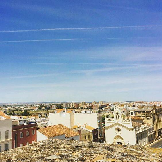 Badajoz desde la Alcazaba :)