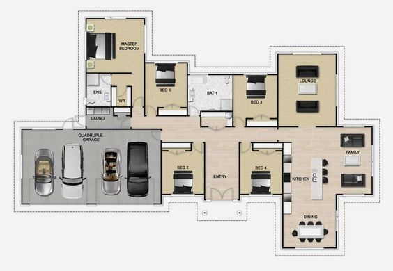 Golden Homes Plan: Vantage | New Zealand floor plans | Pinterest ...