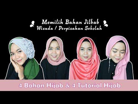Tutorial Hijab Segi Empat Anak Sekolah