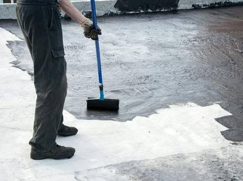 Roof Medics Llc If You Are Looking For Roofing Contractor And Waterproof Roofing For Your Residential Purpose Then Call To Us O Concrete Liquid Rubber Roofing