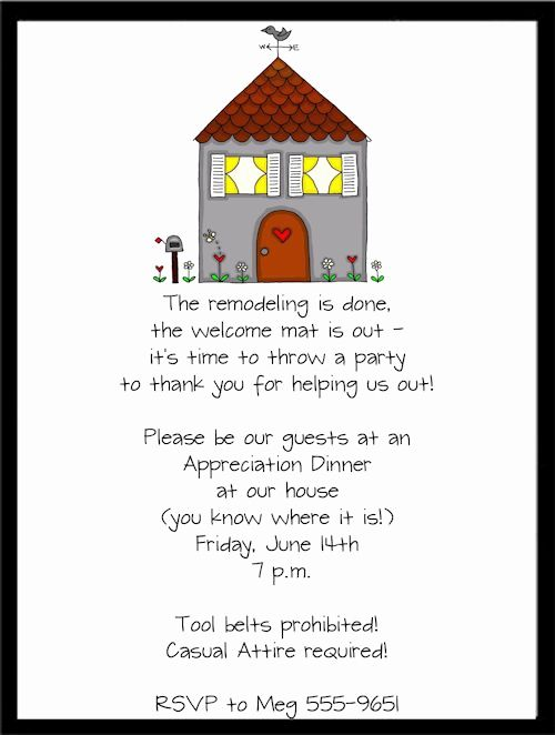Housewarming Party Invitation Templates Elegant New Remodel Housewarmi House Warming Invitations Housewarming Party Invitations Housewarming Invitation Wording