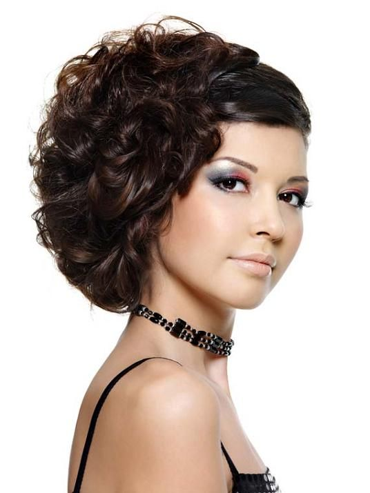 African American Side Swept Wedding Hairstyles