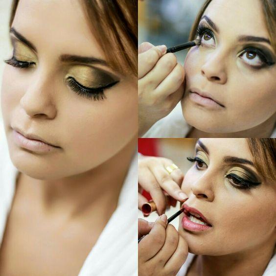 Um pouco do meu trabalho!!! Amo maquiagem