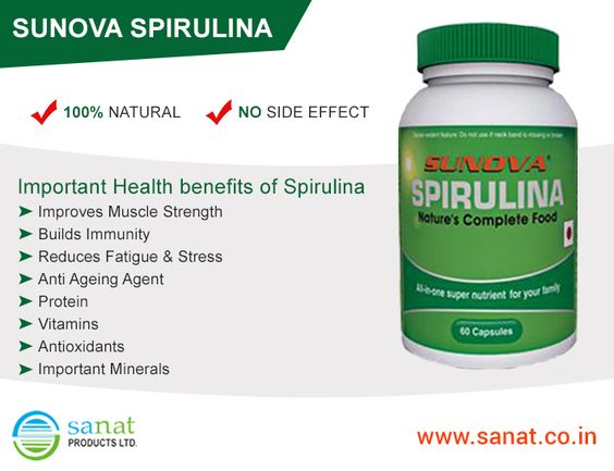 #‎Spirulina‬: Nature's complete food.