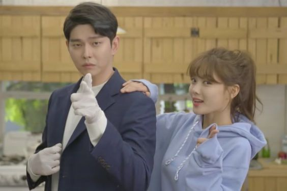 "Watch: Yoon Kyun Sang And Kim Yoo Jung Adorably Wipe Windows In ""Clean With Passion For Now"" Teaser"