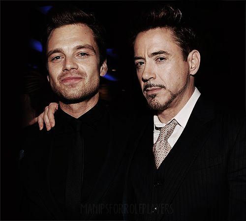 Robert Downey Jr And Sebastian Stan | Sebastian Stan and Robert Downey Jr