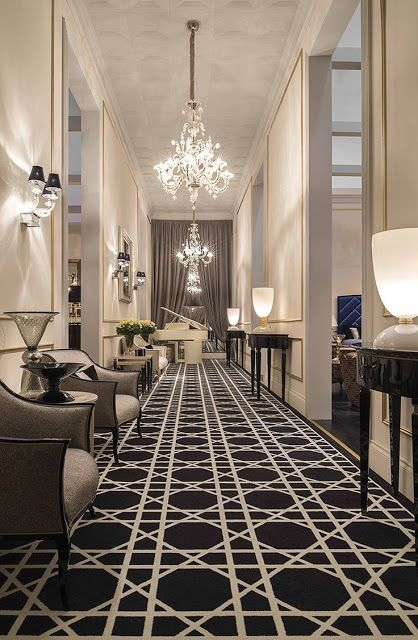 Elegant Grey Interior Design | Hotel Interior Design Trends. Hospitality Furniture. Hospitality Projects. Luxury Real Estate. Leading Hotels. See more: http://www.brabbu.com/en/news-events/category/interior-design/hospitality-projects