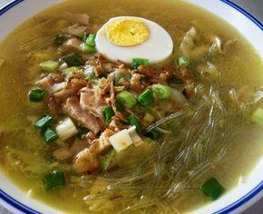 Resep Soto Ayam Indonesianrecipe Rawon Soto Makanan Enak Resep Masakan Resep Masakan Indonesia