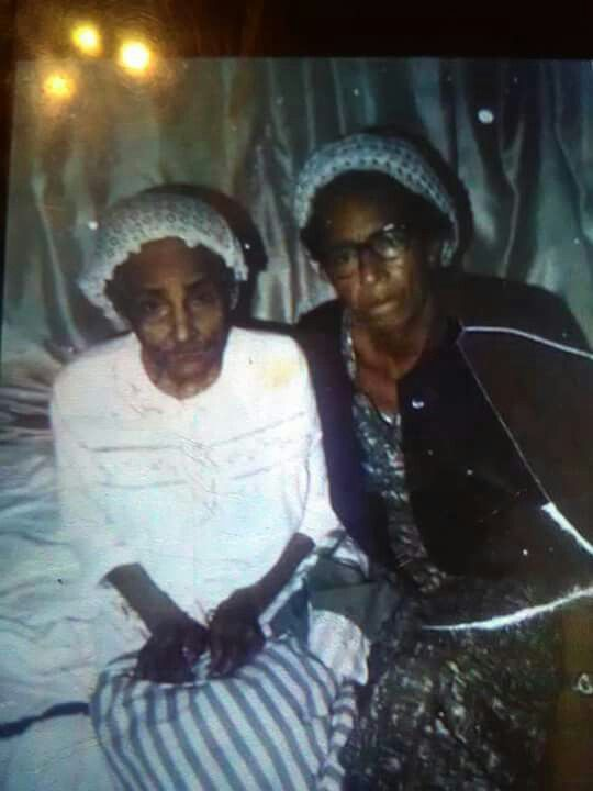 Great Grandma and Grandma: Ms. Junie and Ms. Addie Lee