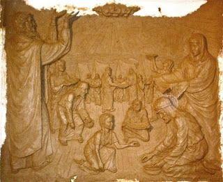 Tisha BeAv - A Nove de Av de 2449 (1312 AEC), a geração de judeus que saiu do Egito sob a liderança de Moshê 16 meses antes foi condenada a morrer no deserto e a entrada na Terra de Israel foi adiada por 40 anos.  Esta é a primeira das cinco tragédias nacionais que ocorreram em 9 de Av relatadas pelo Talmud (Taanit 4:6), devido às quais o dia foi designado como dia de jejum. As outras quatro foram: a destruição dos dois Templos, a Queda de Betar, e a destruição de Jerusalém