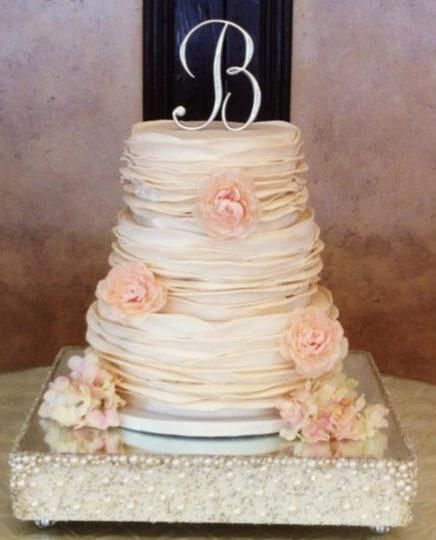 Round Wedding Cakes - * One of my favorite cakes I have made :)