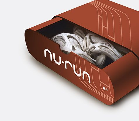 Running Shoe Shoebox