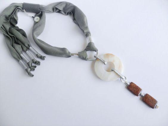 collar de declaración de babero collar de por DenDesignjewels
