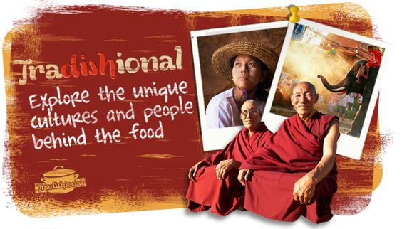 For insight on cultures from around the world visit www.tradishional.com