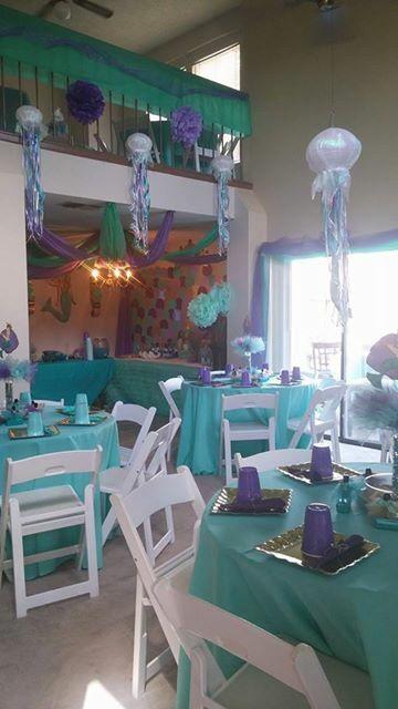 Mermaid baby shower #zaylisbabyshower