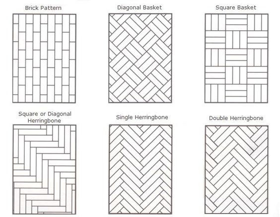 patterned parquet floors - Google Search