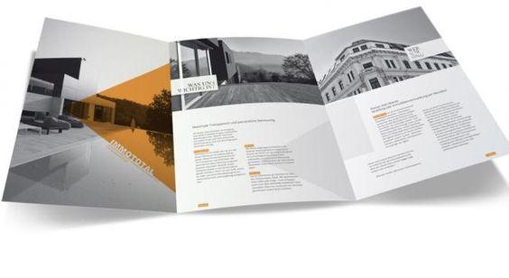 Image-Übergabe-Mappe, Image-Folder für IMMOTOTAL Real Estate Marketing Agentur | immobilien-promotion.net