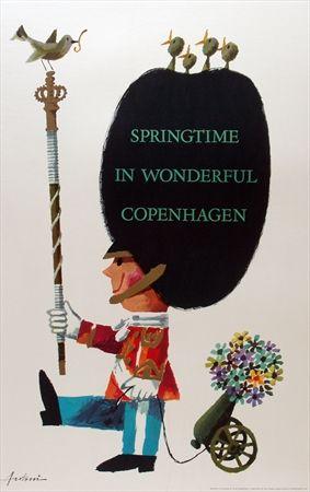 Springtime in wonderful Copenhagen - 1963 -