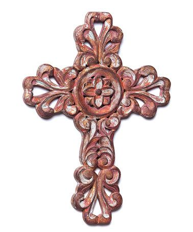 Another great find on #zulily! Rust Filigree Cross #zulilyfinds