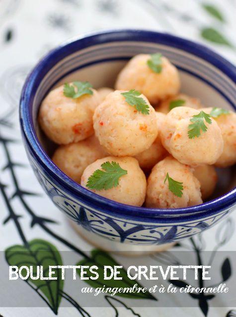 Boulettes de crevettes à la vapeur