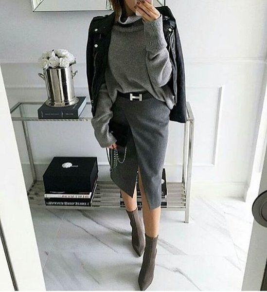 Кожаная куртка всегда в моде