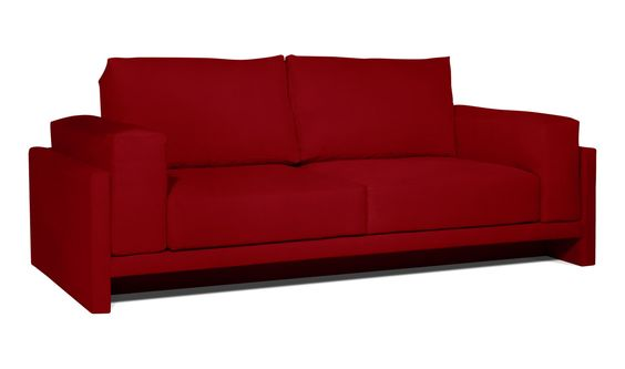 Schlafsofa Irving Rot günstig online kaufen - FASHION FOR HOME