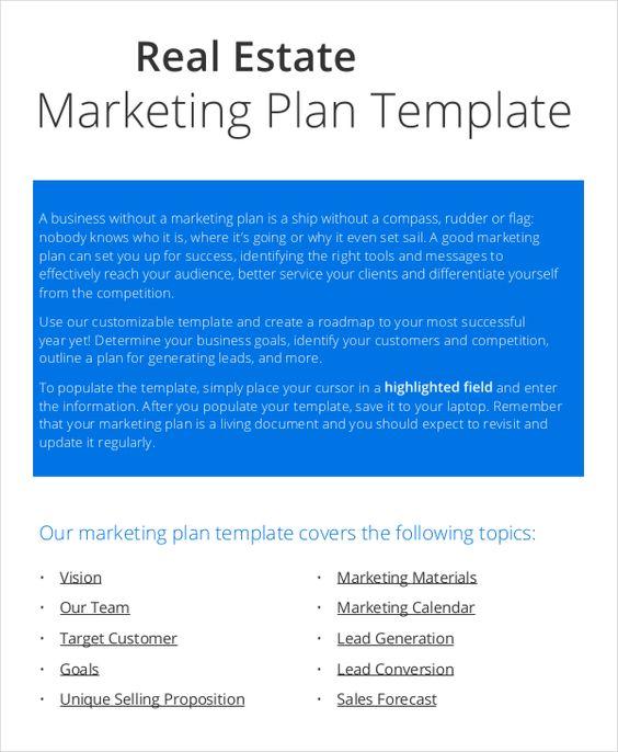 Marketing Plan Format marketing Plan Template Pinterest - marketing business plan template
