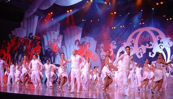 Parte del Espectaculo del  Miss Venezuela 2006..