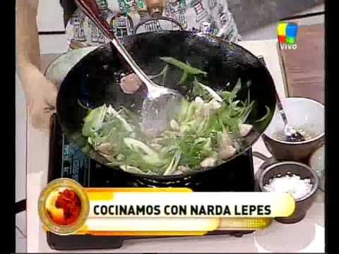 Cocinando con Narda Lepes
