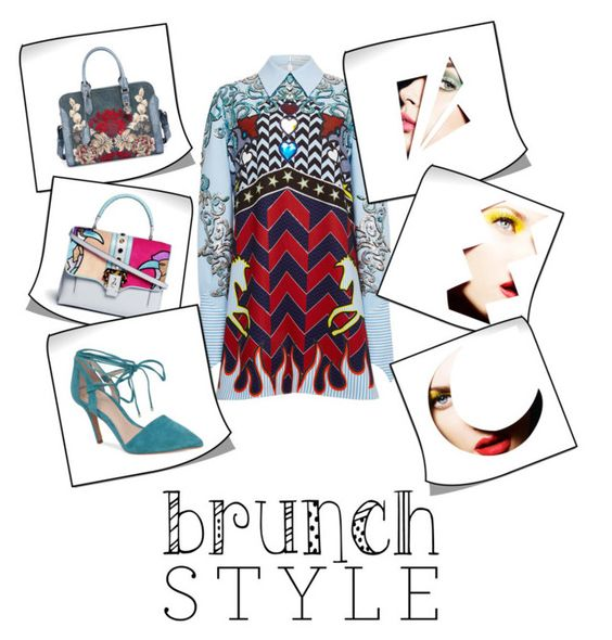 """""""Brunch style"""" by charisloves ❤ liked on Polyvore featuring Mary Katrantzou, Paula Cademartori, Alexander McQueen and Vince Camuto"""