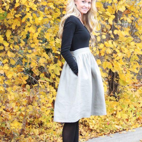 Robe de grossesse pour l'hiver : Winter pregnancy dress