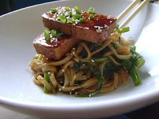 Everyday Everything: Soy Vay Tofu and Udon with Broccolini
