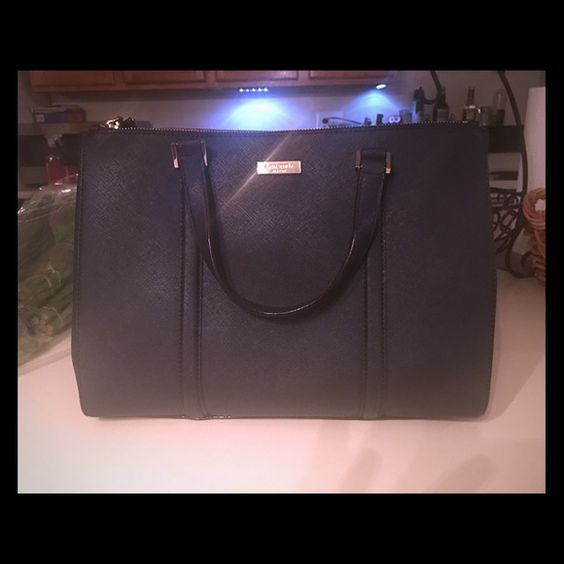 KATE SPADE NY LODEN SATCHEL IN OFFSHORE (NAVY) Beautiful NWT Kate Spade NY Newberry Lane Large LODEN Satchel , Retails $299.99 Kate Spade Bags Satchels