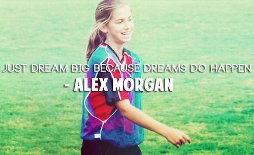 Alex Morgan Throw Back