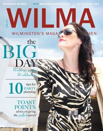 Front Cover of The Occassions Magazine for WILMA