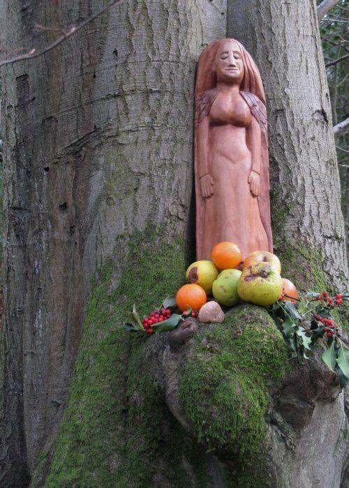 Freya in the Woods by ~Thorskegga